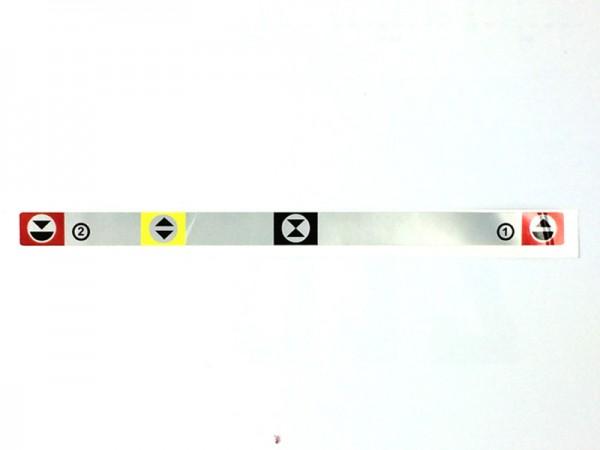 Schild der Regelhydraulik Zetor UR1