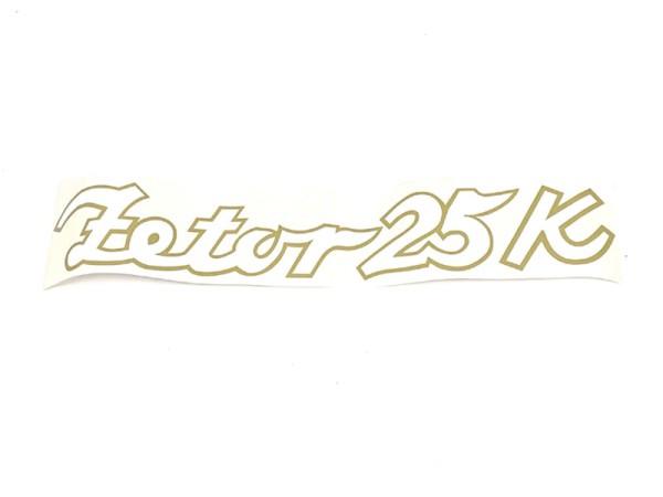 Typenbezeichnung Zetor 2511K Aufschrift / Modellbezeichnung NEU