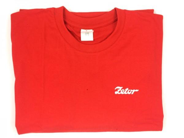 Shirt , T-Shirt Zetor rot Neu