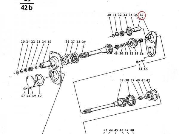 Deckel Getriebe Zetor UR1 NEU