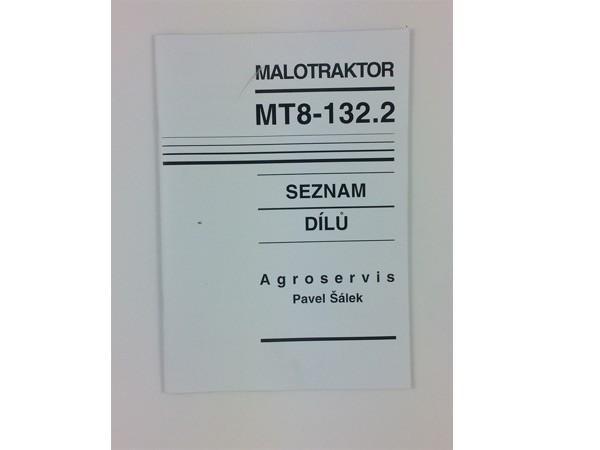 Katalog , Ersatzteilkatalog MT8-132.2 Neu