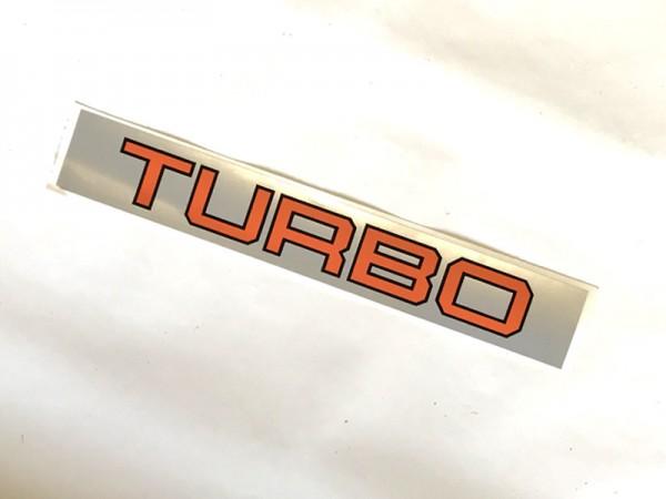 """Aufschrift """"Turbo"""" für Zetor Modelle NEU"""