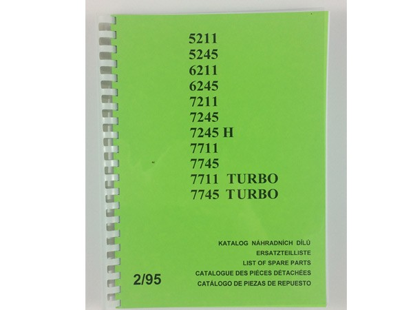 Katalog , Ersatzteilkatalog Zetor 5211-7745, Deutsch NEU