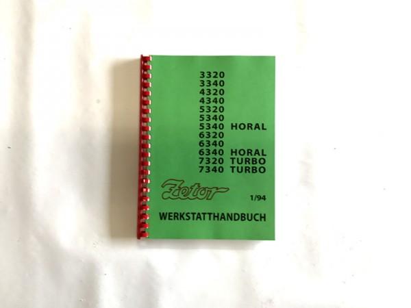 Werkstatthandbuch Zetor 3320-7340