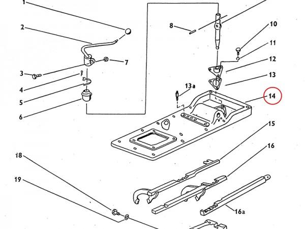 Getriebekastendeckel Deckel für Getriebe Zetor UR1 NEU