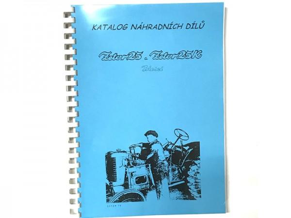 Katalog , Ersatzteilkatalog Zetor 25+25K