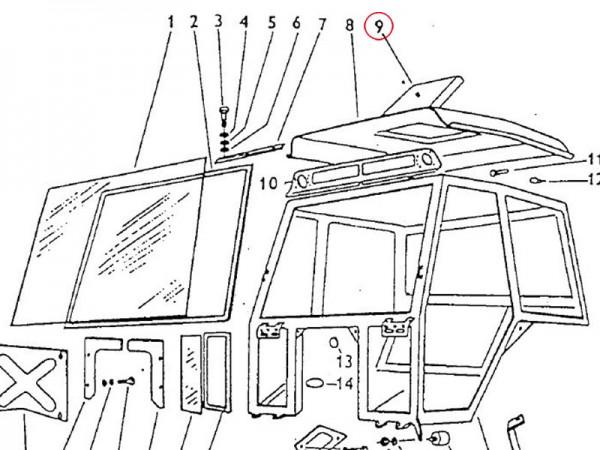 Dachluke Zetor UR1