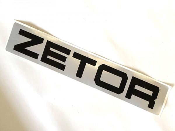 """Aufschrift """"Zetor"""" für Heckscheibe alle Modelle möglich"""