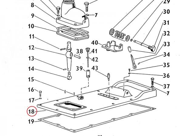 Deckel Getriebekasten Zetor UR1